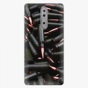 Plastový kryt iSaprio - Black Bullet - Nokia 8