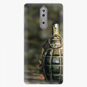 Plastový kryt iSaprio - Grenade - Nokia 8
