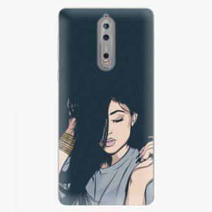 Plastový kryt iSaprio - Swag Girl - Nokia 8