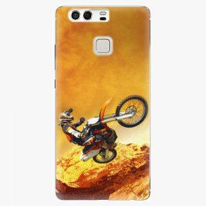 Plastový kryt iSaprio - Motocross - Huawei P9