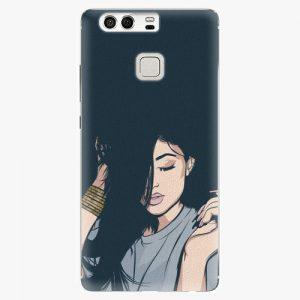 Plastový kryt iSaprio - Swag Girl - Huawei P9