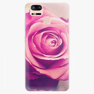 Plastový kryt iSaprio - Pink Rose - Asus ZenFone 3 Zoom ZE553KL