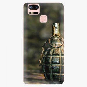 Plastový kryt iSaprio - Grenade - Asus ZenFone 3 Zoom ZE553KL