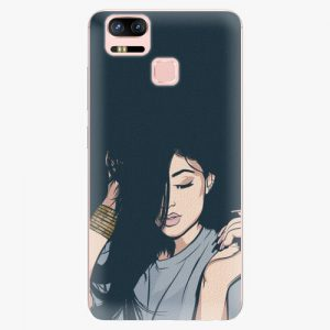 Plastový kryt iSaprio - Swag Girl - Asus ZenFone 3 Zoom ZE553KL
