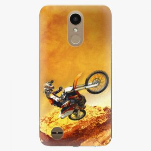 Plastový kryt iSaprio - Motocross - LG K10 2017