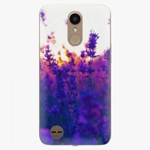 Plastový kryt iSaprio - Lavender Field - LG K10 2017