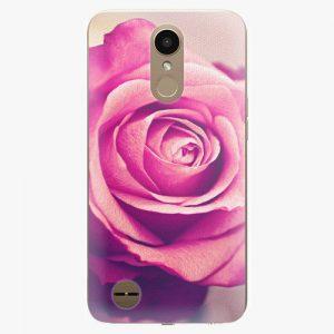 Plastový kryt iSaprio - Pink Rose - LG K10 2017