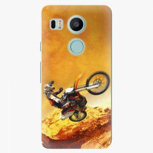 Plastový kryt iSaprio - Motocross - LG Nexus 5X