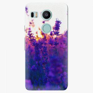 Plastový kryt iSaprio - Lavender Field - LG Nexus 5X