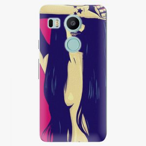 Plastový kryt iSaprio - Cartoon Girl - LG Nexus 5X