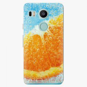 Plastový kryt iSaprio - Orange Water - LG Nexus 5X