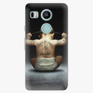 Plastový kryt iSaprio - Crazy Baby - LG Nexus 5X