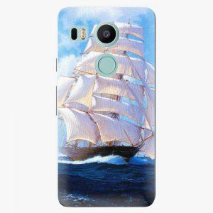 Plastový kryt iSaprio - Sailing Boat - LG Nexus 5X