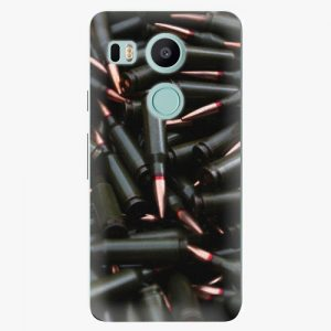 Plastový kryt iSaprio - Black Bullet - LG Nexus 5X