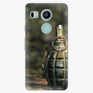 Plastový kryt iSaprio - Grenade - LG Nexus 5X