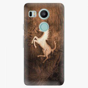 Plastový kryt iSaprio - Vintage Horse - LG Nexus 5X