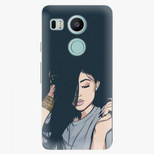 Plastový kryt iSaprio - Swag Girl - LG Nexus 5X