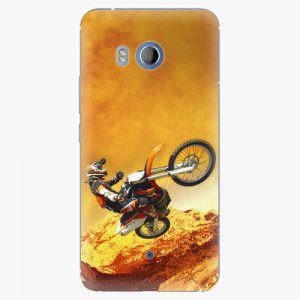 Plastový kryt iSaprio - Motocross - HTC U11