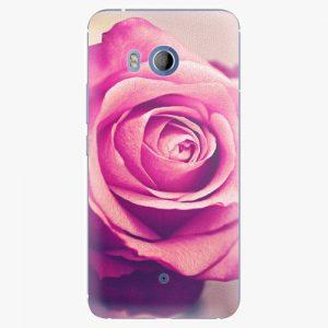 Plastový kryt iSaprio - Pink Rose - HTC U11