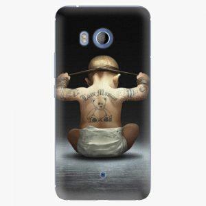 Plastový kryt iSaprio - Crazy Baby - HTC U11