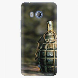 Plastový kryt iSaprio - Grenade - HTC U11