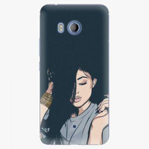 Plastový kryt iSaprio - Swag Girl - HTC U11