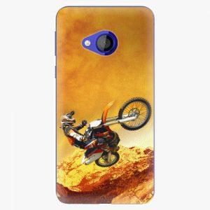 Plastový kryt iSaprio - Motocross - HTC U Play