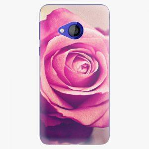 Plastový kryt iSaprio - Pink Rose - HTC U Play