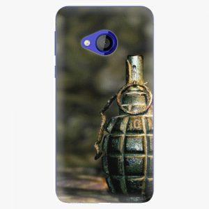 Plastový kryt iSaprio - Grenade - HTC U Play