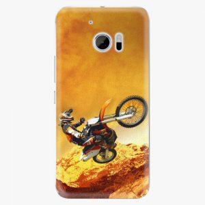 Plastový kryt iSaprio - Motocross - HTC 10
