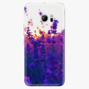 Plastový kryt iSaprio - Lavender Field - HTC 10