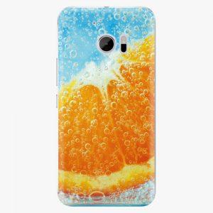 Plastový kryt iSaprio - Orange Water - HTC 10