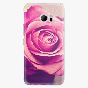 Plastový kryt iSaprio - Pink Rose - HTC 10