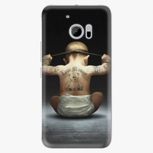 Plastový kryt iSaprio - Crazy Baby - HTC 10