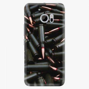 Plastový kryt iSaprio - Black Bullet - HTC 10