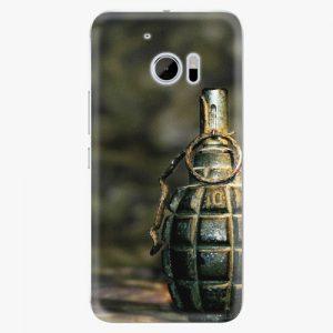 Plastový kryt iSaprio - Grenade - HTC 10