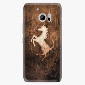 Plastový kryt iSaprio - Vintage Horse - HTC 10