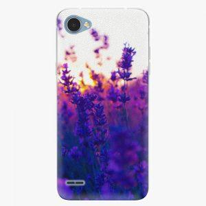 Plastový kryt iSaprio - Lavender Field - LG Q6