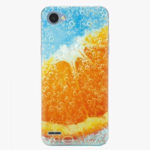 Plastový kryt iSaprio - Orange Water - LG Q6