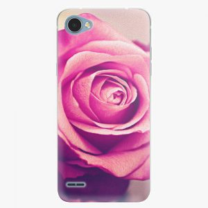 Plastový kryt iSaprio - Pink Rose - LG Q6