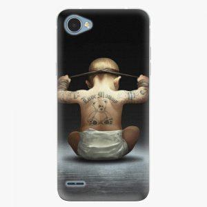 Plastový kryt iSaprio - Crazy Baby - LG Q6