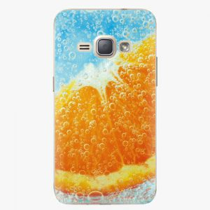 Plastový kryt iSaprio - Orange Water - Samsung Galaxy J1 2016