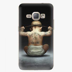 Plastový kryt iSaprio - Crazy Baby - Samsung Galaxy J1 2016