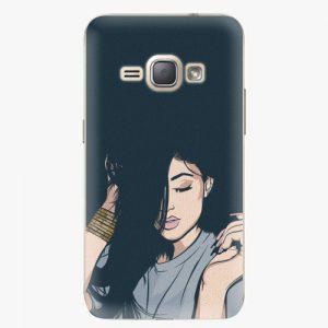 Plastový kryt iSaprio - Swag Girl - Samsung Galaxy J1 2016
