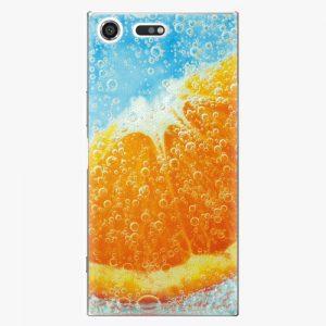 Plastový kryt iSaprio - Orange Water - Sony Xperia XZ Premium
