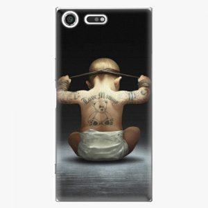 Plastový kryt iSaprio - Crazy Baby - Sony Xperia XZ Premium