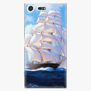 Plastový kryt iSaprio - Sailing Boat - Sony Xperia XZ Premium