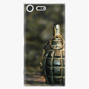 Plastový kryt iSaprio - Grenade - Sony Xperia XZ Premium