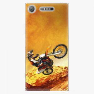 Plastový kryt iSaprio - Motocross - Sony Xperia XZ1