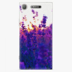 Plastový kryt iSaprio - Lavender Field - Sony Xperia XZ1